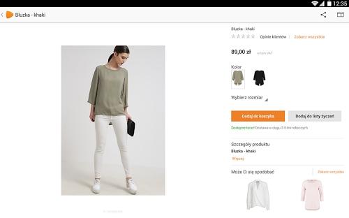 bf9674799a Opis Zalando - Moda   Zakupy Online. Jest to aplikacja dla urządzeń z  systemem Android umożliwiająca zakup markowej odzieży dla kobiet ...