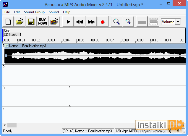 Acoustica MP3 Audio Mixer 2 471 for Windows 10 free download