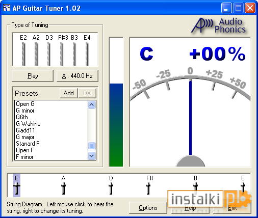 ap guitar tuner software for pc free download