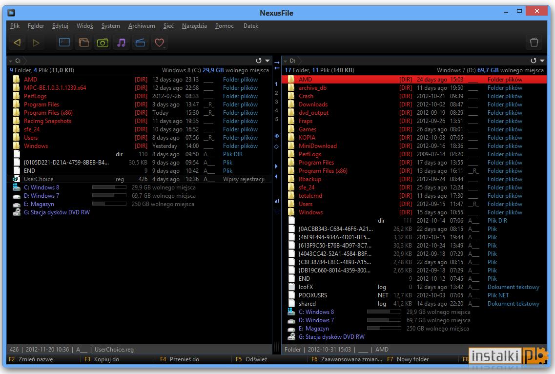 NexusFile 5.3.3