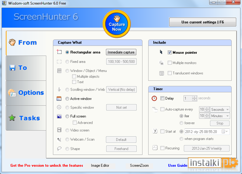 Screenhunter Free 6 For Windows 10 Free Download On