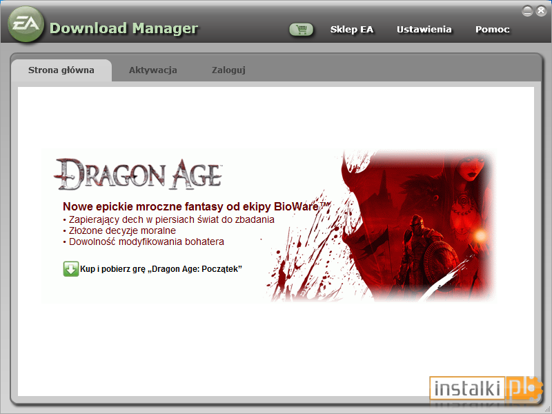 Download origin (ex ea download manager) free — networkice. Com.