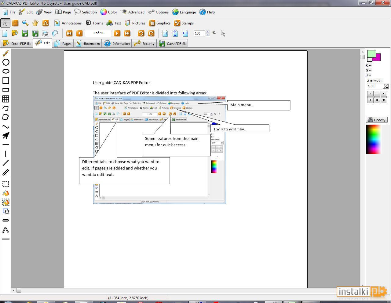 Programy do odczytywania PDF tworzenia PDF