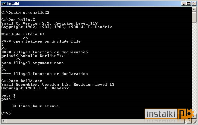 Small C Compiler Version 2 2 For Windows 10 Free Download