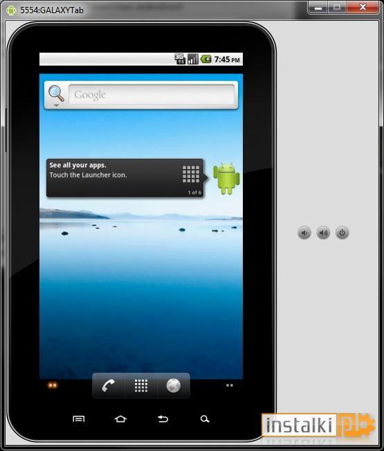 Samsung GALAXY Tab Emulator Download Instalkipl