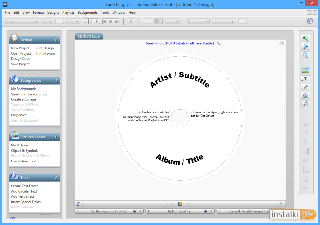 It's just a graphic of Satisfactory Surething Cd Dvd Labeler Download