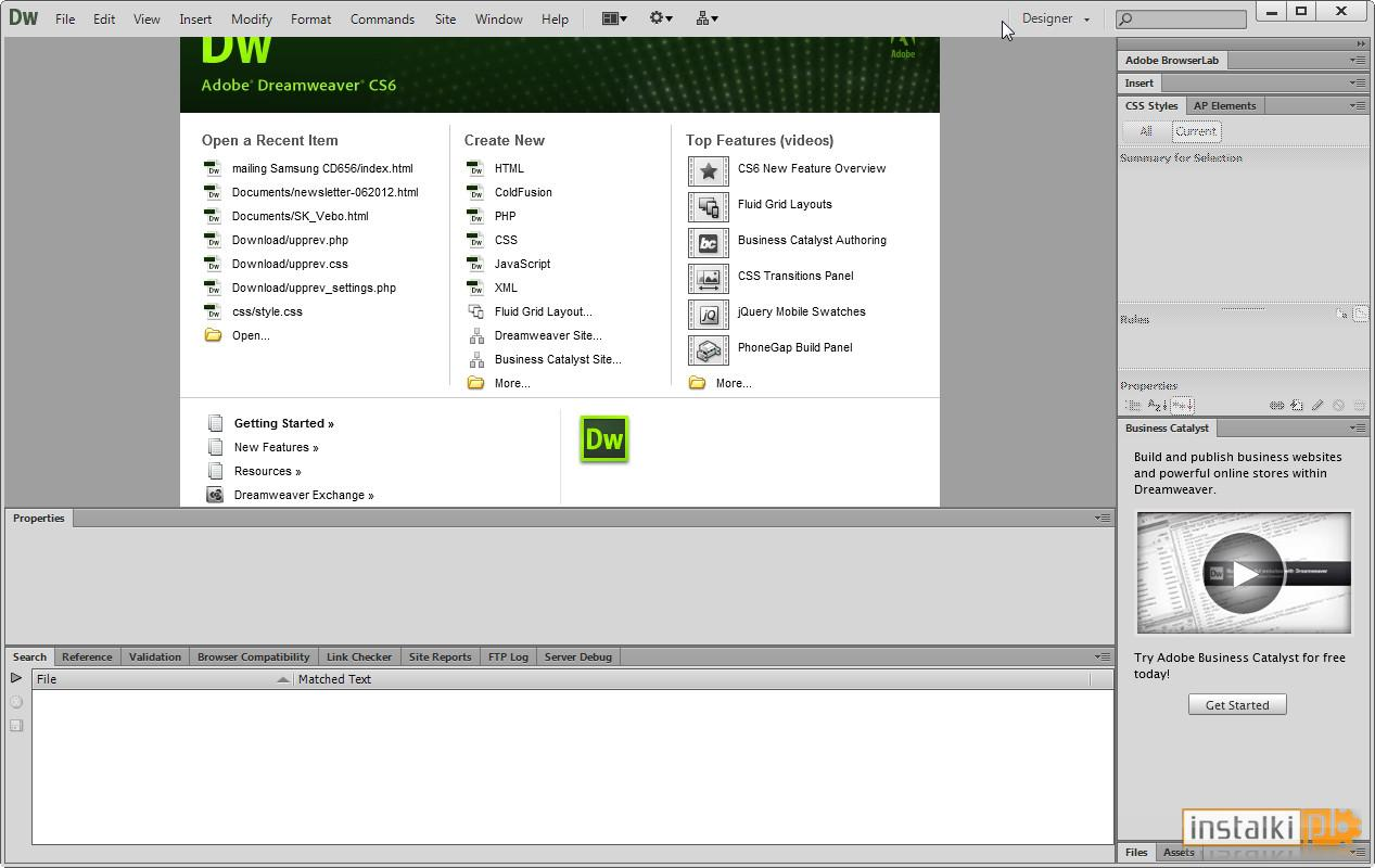Adobe dreamweaver cs6 12 0 1 for windows 10 free download for Templates for dreamweaver cs6