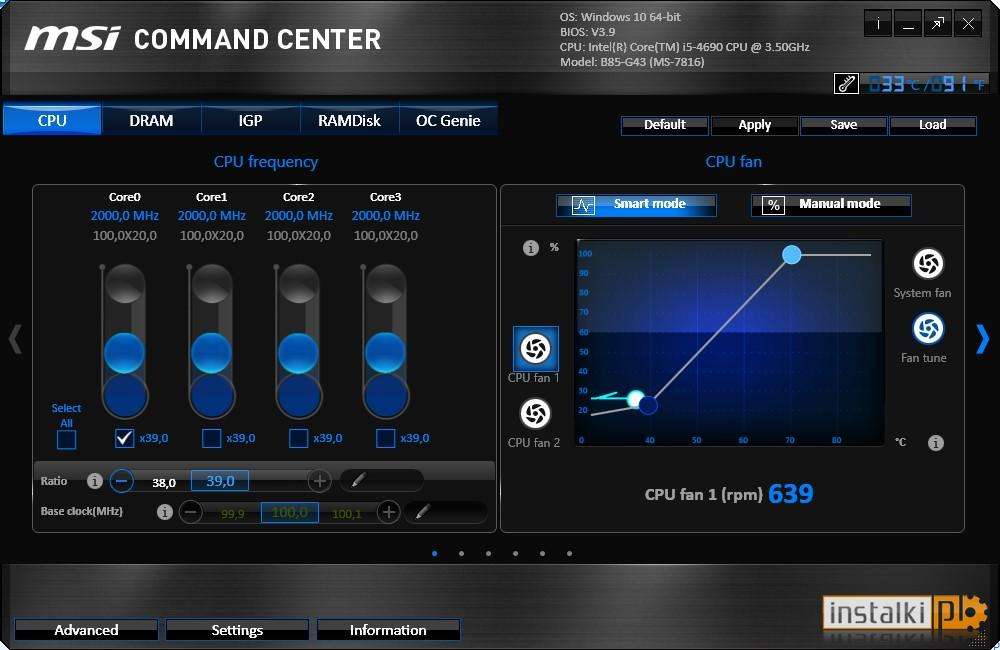 Download MSI Command Center by MSI
