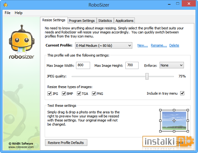 Robosizer 1 0 9 3 For Windows 10 Free Download On Windows