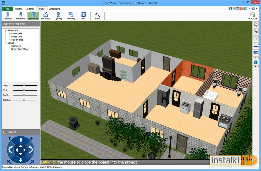 DreamPlan Home Design Software 2.34 - Download - Instalki.pl