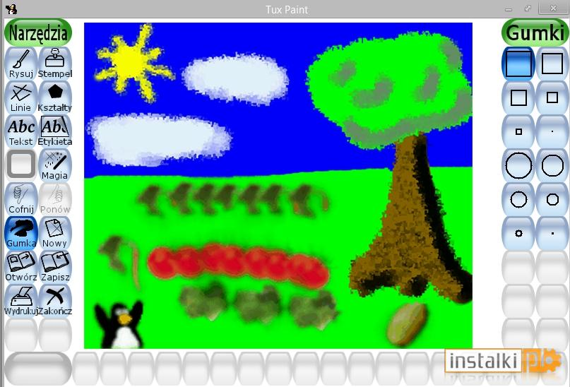 how to download tux paint on windows 7