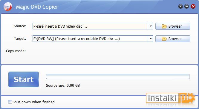how to use magic dvd copier