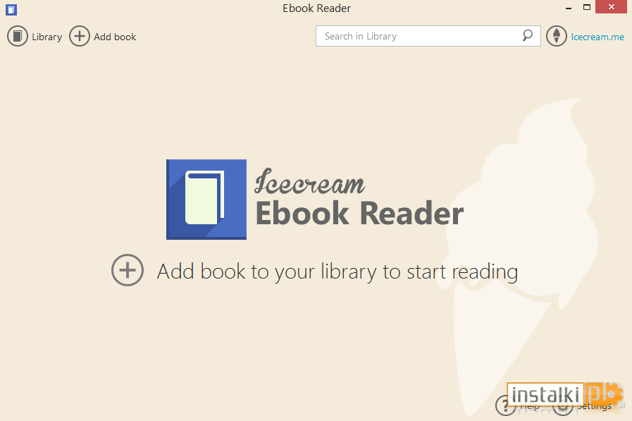 ebook reader with pdf support
