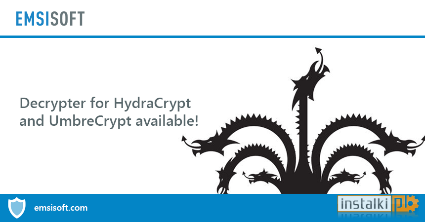 Emsisoft Decrypter for HydraCrypt 1 0 0 175 - Download