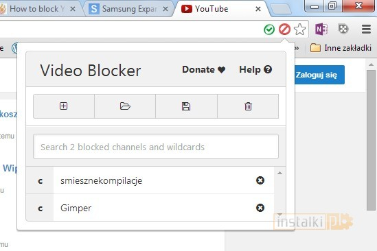 video blocker 3