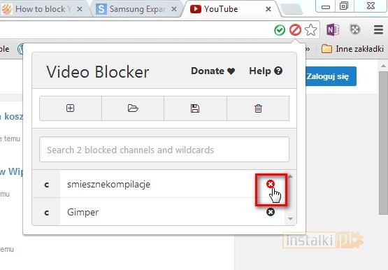 video blocker 4