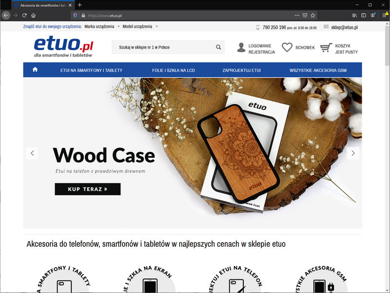 The etuo.pl store fell victim to a hacker attack