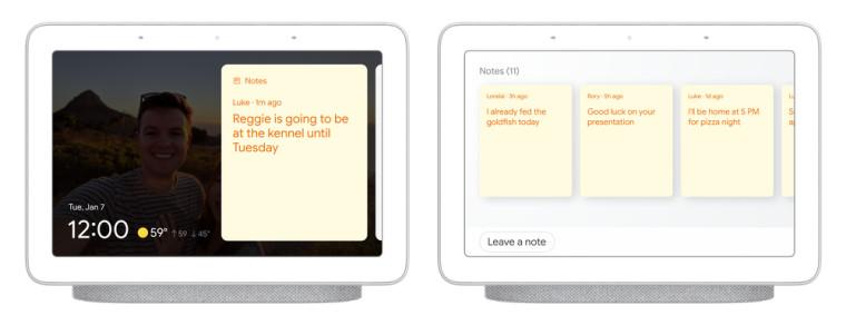 Google Sticky Notes assistant