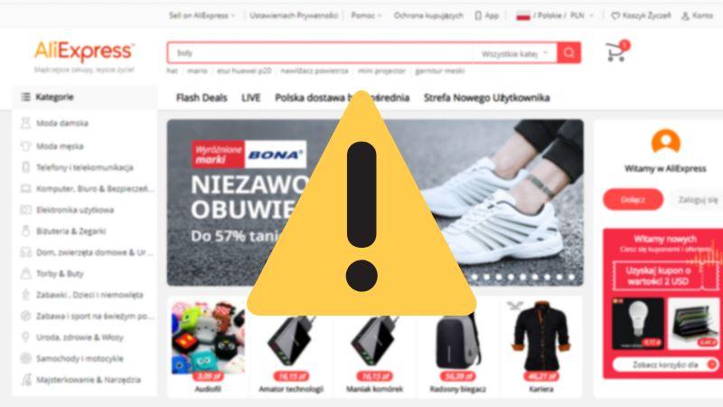 aliexpress leaking Poland