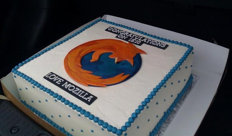 Microsoft mozilla google cakes 1
