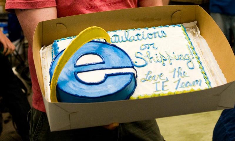 Microsoft Mozilla Google 3 cakes