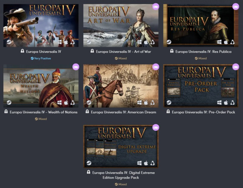 europa universalis iv steam humble bundle
