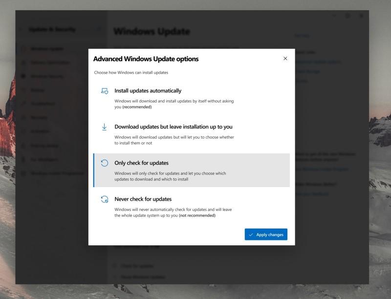 windows update 3 concept