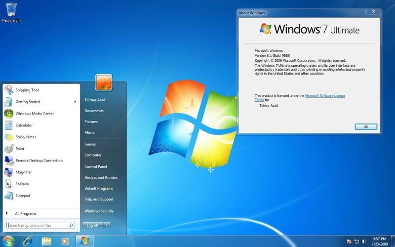 windows 7 free wallpaper update