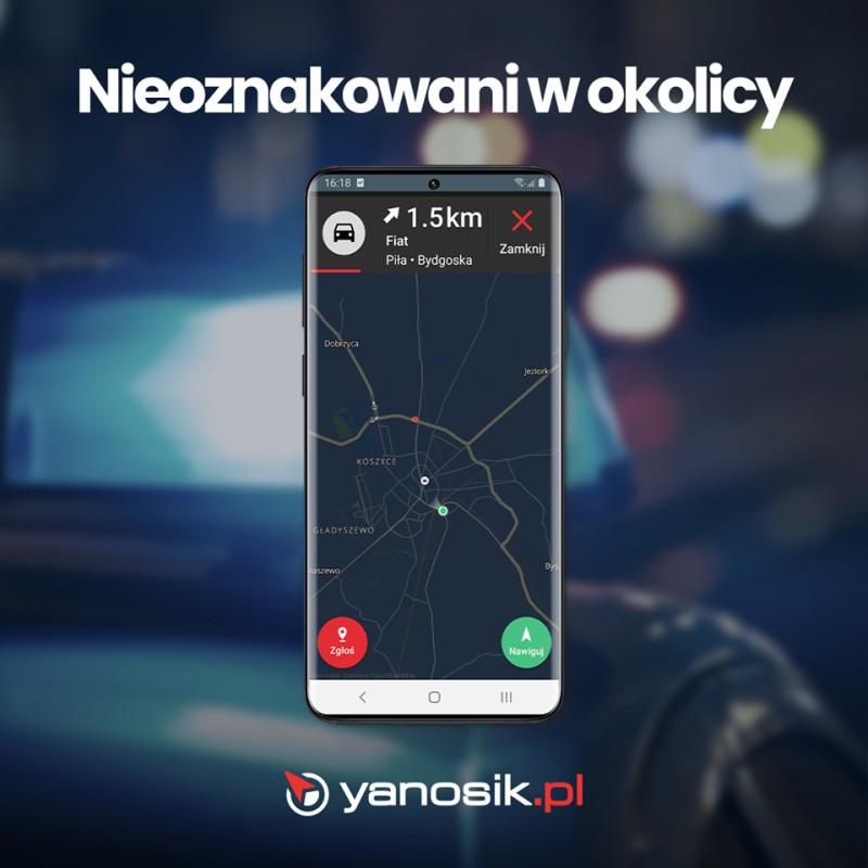 yanosik unmarked patrols