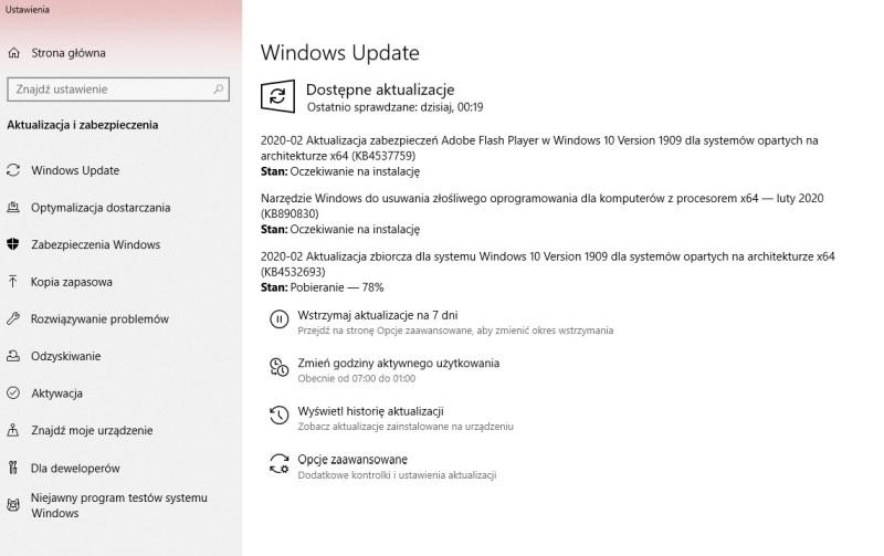 windows update february