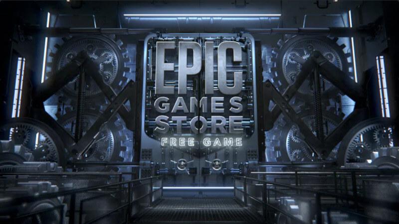 Epic Games Store tajemnicza gra