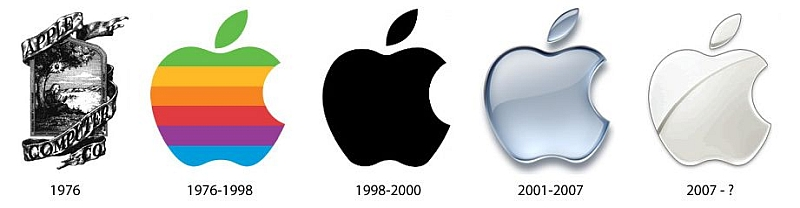 Apple logo historia