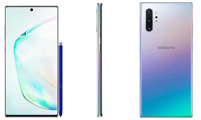 Samsung galaxy note 10 ladowanie 45 w