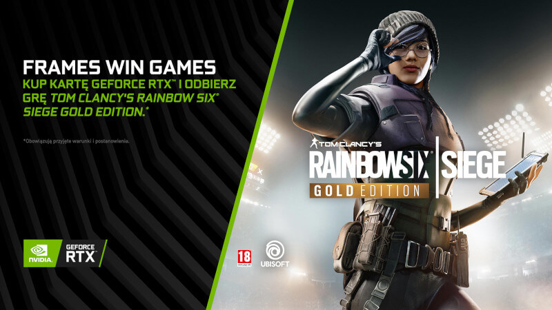 Rainbow Six Siegie i GeForce RTX