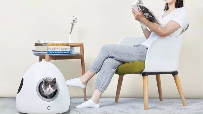 Xiaomi Moestar Spaceship Smart Pet Nest 1