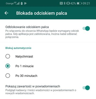 WhatsApp odcisk 2a