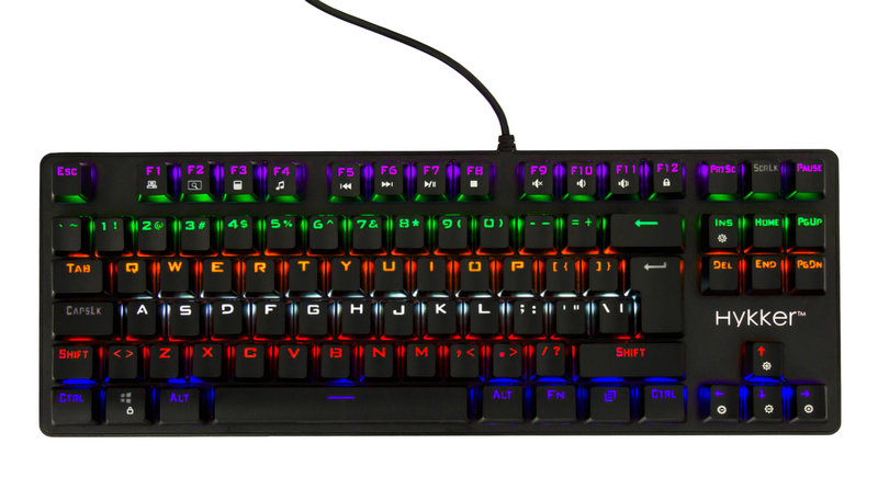 Hykker X Range Pro mechanical keyboard