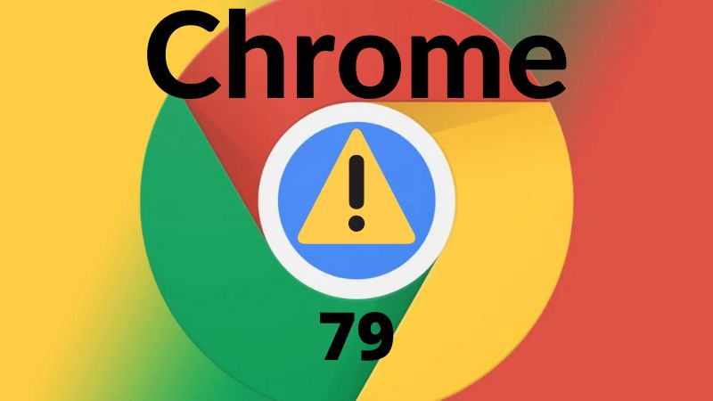 Chrome 79 bug
