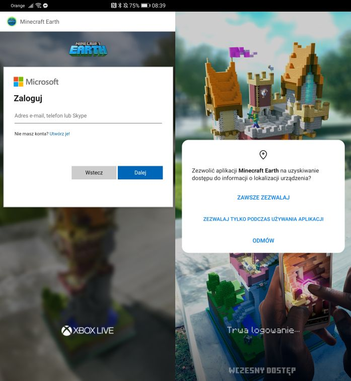 Minecraft Earth download 2