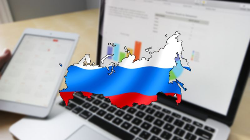 Russia cut off from the internet 2021