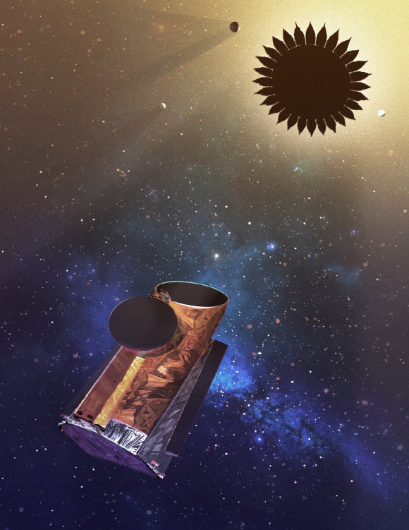 visualization of the telescope 1
