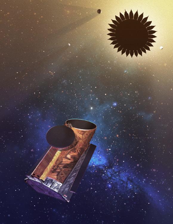visualization of the telescope 1