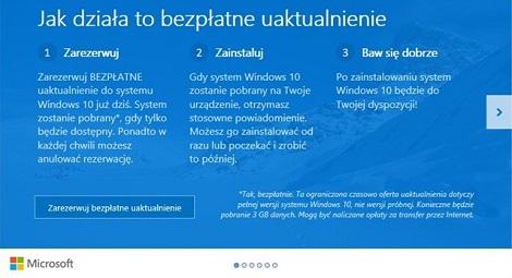 Windows 10 komunikat