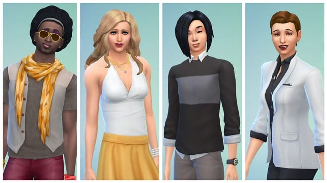 the sims gender
