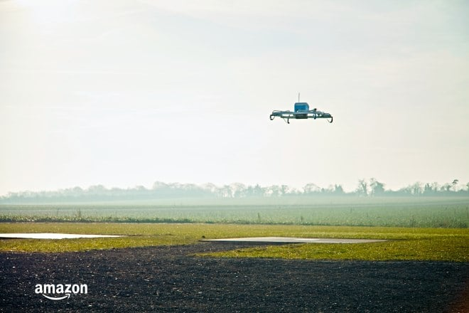 amazon prime air dron