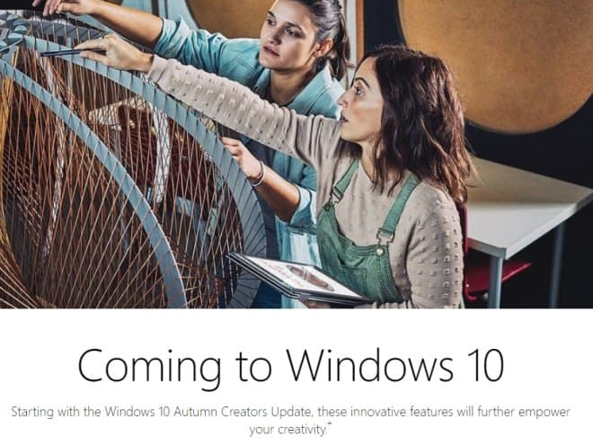 autumn creators update