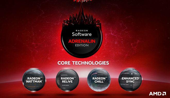 radeon adrenalin core tech new interface