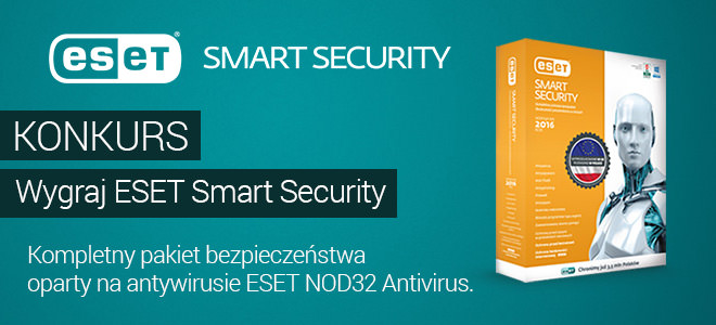 Konkurs ESET Smart Security