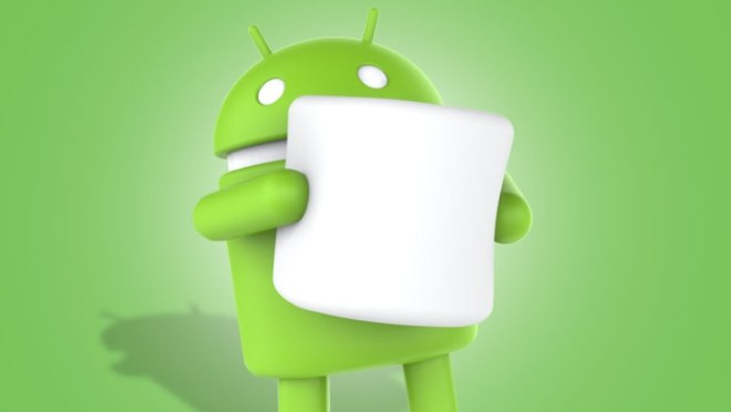 android marshmallow green