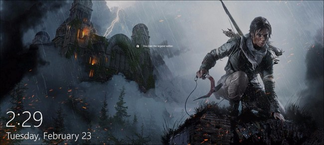 rise of the tomb raider reklama